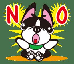 French bulldog Hana and dogs sticker #10626045