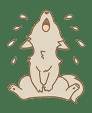 WOLF STICKERS sticker #10630894
