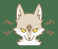 WOLF STICKERS sticker #10630897