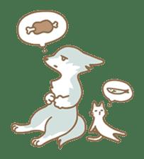 WOLF STICKERS sticker #10630900