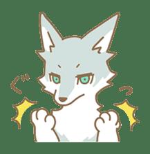 WOLF STICKERS sticker #10630905