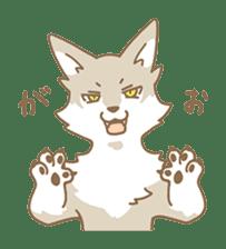 WOLF STICKERS sticker #10630906