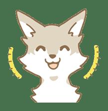 WOLF STICKERS sticker #10630909