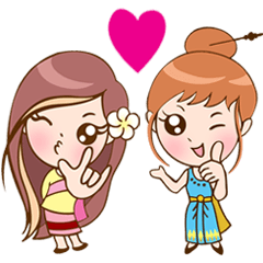 Thai-Laos girls