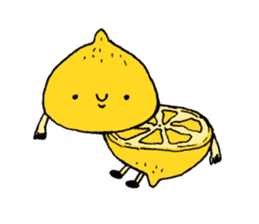 Lemon-kun sticker #10637402