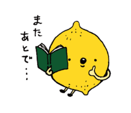Lemon-kun sticker #10637408