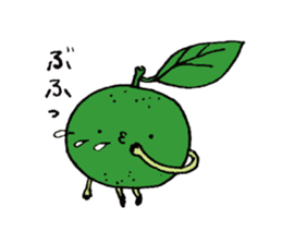 Lemon-kun sticker #10637428
