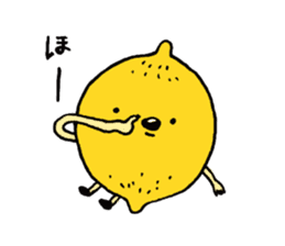 Lemon-kun sticker #10637429