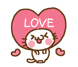 Little cat/daily conversation Ver. sticker #10638642