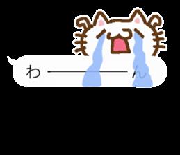 Little cat/daily conversation Ver. sticker #10638658