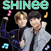 สติ๊กเกอร์ไลน์ SHINee Special 3