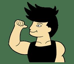 Gym Guy / Muscle Man sticker #10649160