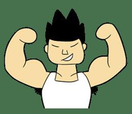 Gym Guy / Muscle Man sticker #10649162