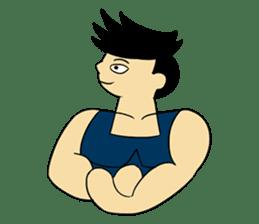 Gym Guy / Muscle Man sticker #10649166