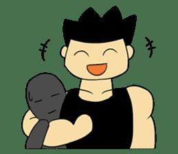 Gym Guy / Muscle Man sticker #10649177