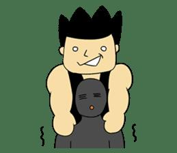 Gym Guy / Muscle Man sticker #10649178