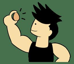 Gym Guy / Muscle Man sticker #10649192