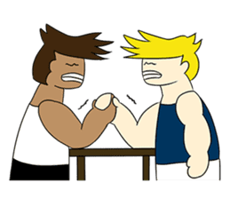 Gym Guy / Muscle Man sticker #10649197