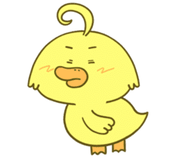 I Don't Give A Duck sticker #10651089
