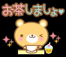 Cutie bear part no.2 sticker #10651724