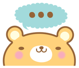 Cutie bear part no.2 sticker #10651728