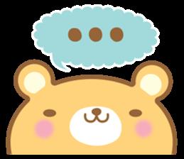 Cutie bear part no.2 sticker #10651728