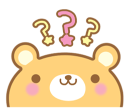 Cutie bear part no.2 sticker #10651749