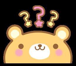 Cutie bear part no.2 sticker #10651749