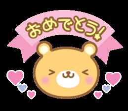 Cutie bear part no.2 sticker #10651752