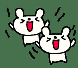 English cute LOVE bear2. sticker #10655444