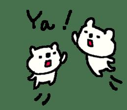 English cute LOVE bear2. sticker #10655469