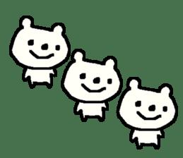 English cute LOVE bear2. sticker #10655475