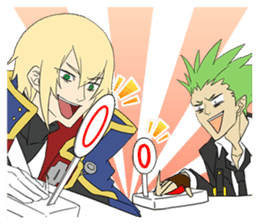 BLAZBLUE RADIO 4 sticker #10661918