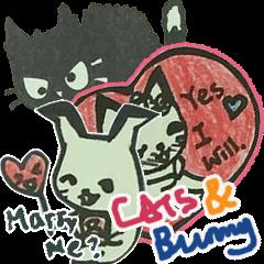 CaCa: Cats & Bunny LoveLove