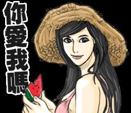Mr. Chrysanthemum6-summer time sticker #10668099