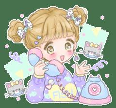 Happy Fancy Girls! sticker #10679046