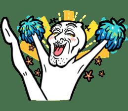 Let's crazy ! Mochi man PUCHU !!(4) sticker #10683619