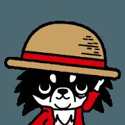 สติ๊กเกอร์ไลน์ ONE PIECE of Chihuahua