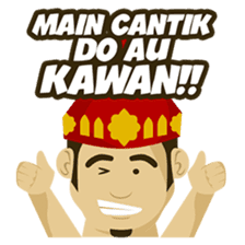 Batak Nauli Language sticker #10689071