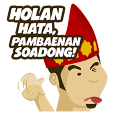 Batak Nauli Language sticker #10689075