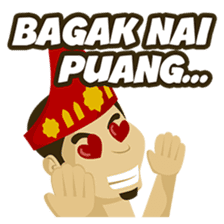 Batak Nauli Language sticker #10689076