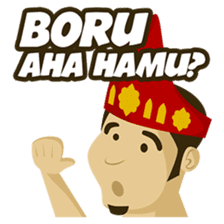 Batak Nauli Language sticker #10689081
