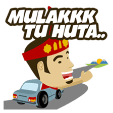 Batak Nauli Language sticker #10689085