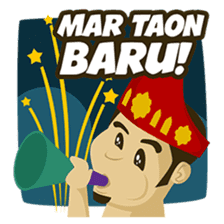 Batak Nauli Language sticker #10689099