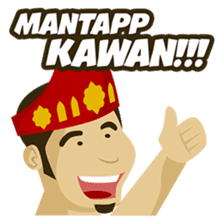 Batak Nauli Language sticker #10689100