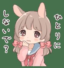 Usagikei kanojo sticker 2nd sticker #10696395
