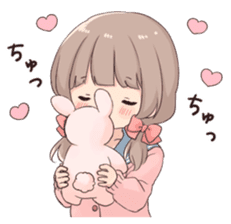 Usagikei kanojo sticker 2nd sticker #10696404