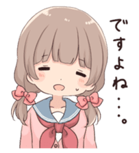 Usagikei kanojo sticker 2nd sticker #10696409