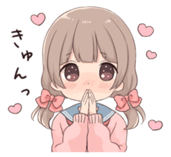 Usagikei kanojo sticker 2nd sticker #10696410