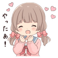 Usagikei kanojo sticker 2nd sticker #10696411